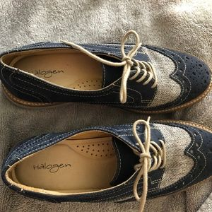 Halogen Lace Up Oxford 7 1/2 B Made in Brazil
